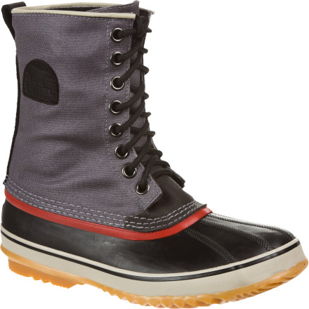 Camp and Hike Get ready to party like its 1964 again. Sorels 1964 Premium T CVS Boots for men come with the classic style that your parents generation loved, but with all the updated weather technology that your generation expects. - $69.98