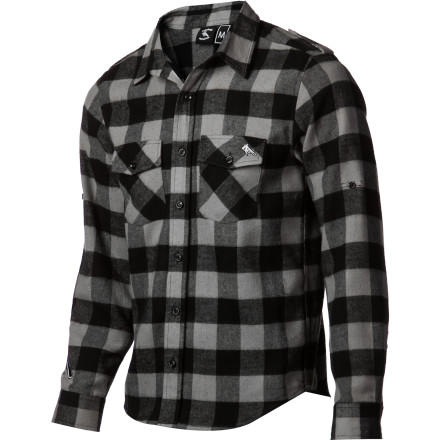 There aren't too many things that beat a nice, warm flannel on a chilly winter morning. The Tomahawk Brave Flannel shirt is right up there with hot cocoa and a 3-egg omelet. - $38.37