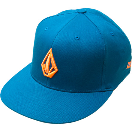 Surf When Ms. Right tackles you to the ground, desperate to get a piece of your impeccable style, the Volcom Stone J-Fit Hat will be there to witness the action. Its band is flexible, to accommodate your expanding skull and adjust to your ever-morphing hairstyles. - $11.48