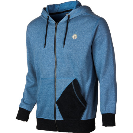 Surf Volcom Sepulveda Fleece Full-Zip Hoodie - Men's - $32.97