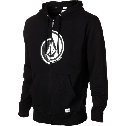 Surf Volcom Splitter Fleece Full-Zip Hoodie - Men's - $32.97