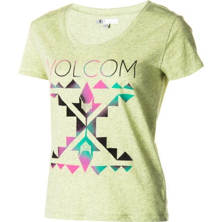Surf Volcom Such A Flirt T-Shirt - $18.87