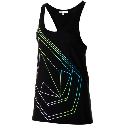 Surf The Volcom Women's Blown Stone Tank Top brings a cool, laid-back feel that is great for when you want to hang out on your front porch and drink margaritas until you feel comfortable shouting cat calls at any hottie that passes by. Don't be surprised if you get some cat calls back thanks to the casual sexiness this tank top is packing. - $24.95