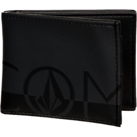 Surf Volcom One Two Three Bi-Fold Wallet - Men's - $20.21