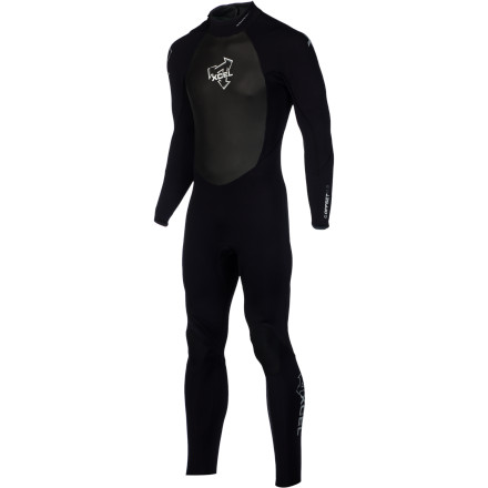 Surf While the rest of your friends are moaning about the crappy weather and cold water, you're taking advantage of the abnormally large swells in the XCEL 4/3 OS Men's Wetsuit. The Ultrastretch neoprene has a Thermocarbon lining that retains body heat to keep you warm, and flexible Fusion seams seal out water to prevent flushing so you can surf all day without turning into a frozen fishstick. - $279.95