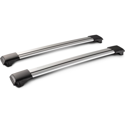 Adding a sleek, noise-reducing set of roof bars to your vehicle is as easy as installing the new Yakima Whispbar Rail Bar Rack Kit. If your automobile already has factory side rails, then all you need to do is order the appropriate size, watch through the window for the delivery truck, and clip the included horizontal towers when the package arrives. - $332.10