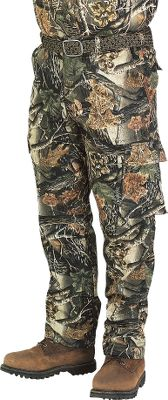 "Hunting Our Silent Weave Series gives hunters a lightweight, affordable way to conceal themselves. These Pants have a classic six-pocket design. The rugged 7-1/2-oz. poly/cotton construction will stand up to years of wear in the field. Durable, comfortable and quiet - everything about this series makes it ideal for virtually any type of hunting. Features two front slash pockets, two button-close rear pockets and two extra-large cargo pockets on the legs. Drawstring bottom hem. Zippered fly. Adjustable waist. Imported.Sizes: 8-18. Fits inseams to 32-1/2"".Camo pattern: Seclusion 3D . - $19.88"
