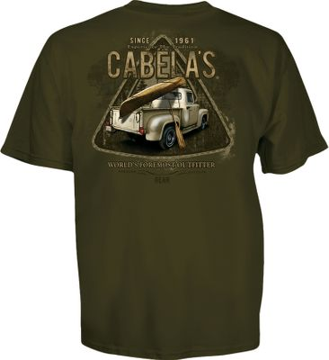 Kayak and Canoe Designed, printed and finished in the USA, each nostalgic tee boasts a screen-printed patch-series design on one of three rich body colors. Crafted of 100% cotton. Imported. Sizes: M-2XL. Patterns: Circle Truck Boat, Old Camper Times, Old Truck Canoe. - $17.99