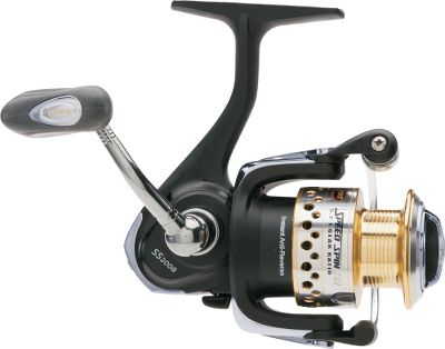 Fishing Strong, smooth and ready to tackle anything from panfish to pike, this feature-loaded reel is also able to withstand harsh saltwater environments. Its rugged, all-weather graphite body, rotor and side cover offer strength without adding weight. Soft Touch armor finish enhances comfort and slip resistance in slick conditions. The drilled, cold-forged, anodized-aluminum spool teams with a heavy-duty aluminum bail wire to deliver even line lay. Oversized line roller reduces line twist. The fully adjustable composite drag system puts you in control of the fight. Quality brass-pinion gearing gives you the cranking power needed to subdue hard-charging fish. A zero-reverse one-way clutch bearing lets you deliver jaw-hammering hooksets. A nine bearing system teams with Lews Speed Lube for exceptionally smooth operation in any weather, hot or cold. Machine-cut aluminum handle with Lews performance handle knob. - $39.88