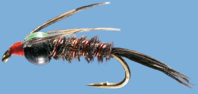 Flyfishing A general attractor nymph pattern that works well in a variety of waters. Per 2. Sizes: 14, 16, 18, 20. Color: Red/Black. Color: Red/Black. Age Group: Kids. Type: Nymphs. - $1.88