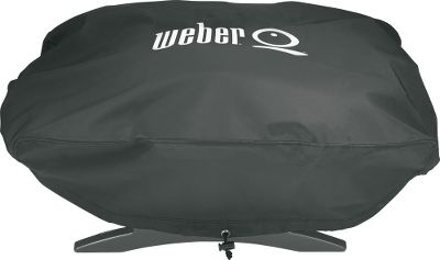 Camp and Hike Put a heavy-duty, made-to-fit cover over your Weber grill for superior protection from damaging winds, rain, snow and sun. Made of extra-thick vinyl. Imported. Available: Q200 - Fits the Weber Q, Weber Q 200 Series and the Weber Char Q grill. Elastic side bands and a front drawcord deliver a secure fit. Q300 - Fits the Weber Q 300 Series Grill. Q2000/200 - Fits the Weber Q 2000/200 Series grill. Type: Grill Covers. - $19.99
