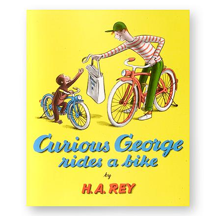 MTB The ingenious, curious monkey gets into another fun-filled, illustrated adventure when the man in the yellow hat gives him a bike - $3.93