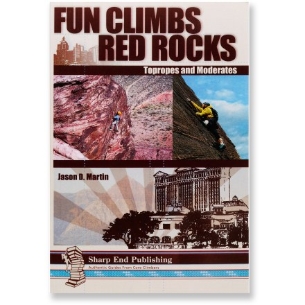 Climbing Providing thorough information on topropes and moderate sport climbs, Fun Climbs: Red Rocks Topropes and Moderates will be your guide to this premier destination near Las Vegas, Nevada. - $22.95
