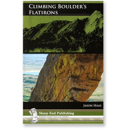 Climbing Climbing Boulder's Flatirons offers climbers a full-color exploration of the unique rock formations outside of Boulder, Colorado. - $32.00