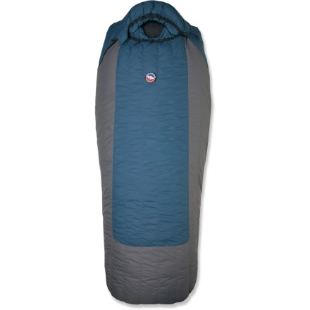 Camp and Hike From the Big Agnes Park Series, the Summit Park high-quality down bag is geared for the big guys or campers looking for supreme comfort at base camp and while car camping. - $249.93