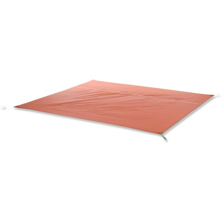 Camp and Hike Used underneath your Big Agnes Copper Spur UL 4 tent, this nylon tarp extends the tent's life by protecting the floor from abrasion and excess wear. - $64.99