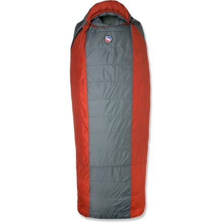 Camp and Hike From the Big Agnes Park Series, the synthetic Hog Park sleeping bag offers big guys and campers who like a lot of space supreme comfort at base camp and during car-camping excursions. - $124.93