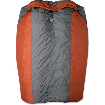 Camp and Hike This spacious Dream Island double bag by Big Agnes is designed to sleep 2 people comfortably, offering the same great features as a single Big Agnes sleeping bag. - $169.93