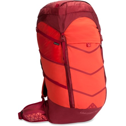 Camp and Hike This clean-featured multiday pack with souped-up technology helps you cut weight and transition toward the ultralight mantra, without cutting the handle off your toothbrush. - $99.93