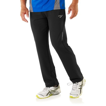 Fitness The innovative Vapor-Dry 3D Stadium II pants from Brooks feature seamless side construction, ensuring a nonirritating fit that moves with you mile after mile. - $41.83