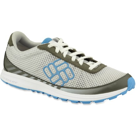 Fitness The Columbia Ravenous Lite trail-running shoes offer the best of both worlds. Minimalist design and grippy outsoles provide just the right amount of flexibility and traction out on the trail. - $24.73