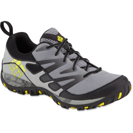 Fitness Packed with enough technology to make your head spin, the Columbia Pathgrinder shoes are itching to hit the toughest trail you can throw their way. - $76.73