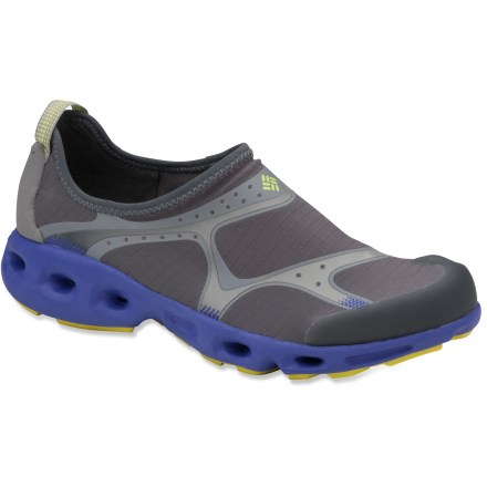 The women's Columbia Drainsock water shoes are made for adventures in and around water. - $29.73