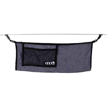 Camp and Hike Run the ENO Talon Ridgeline above your ENO hammock (sold separately) to create a handy place to stash accessories and hang a small lantern. - $21.95