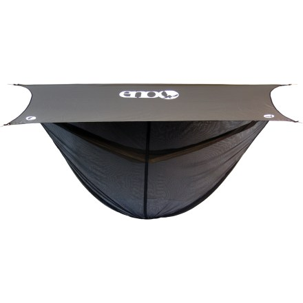 Camp and Hike The ENO OneLink Hammock Shelter System with DoubleNest Hammock, rain tarp, bug net and suspension straps is the simple way to get equipped for a camping trip. - $219.95