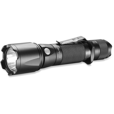 Camp and Hike Keep the Fenix TK15 LED flashlight close by for a bright, reliable beam that will light up the night while you're camping, hiking or waiting out a power outage. - $74.95