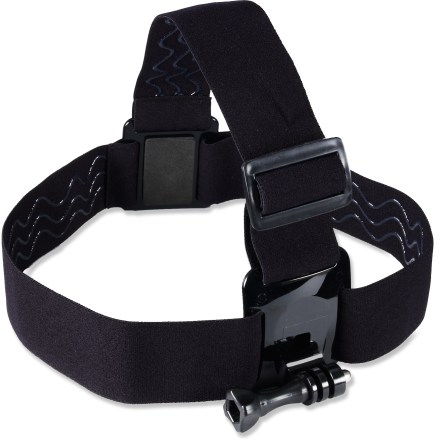 Entertainment The comfortable GoPro Head Strap mount offers an easy head-mount option for your GoPro cam for those times you're not wearing a helmet. Adjustable head strap mount is compatible with all GoPro quick-release cams. - $7.83