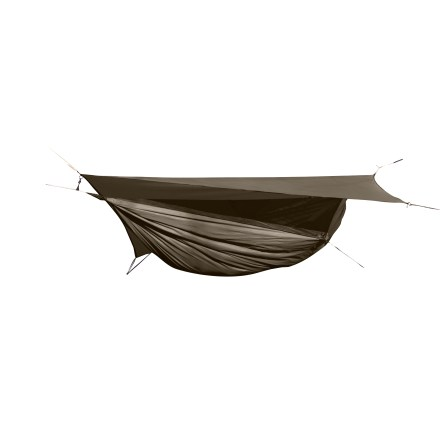 Camp and Hike At 10 ft. long, the Explorer Ultralite Asym Classic from Hennessy Hammock was designed for anyone under 250 lbs. or more than 6 ft. tall-you get more comfort without the weight. - $269.95