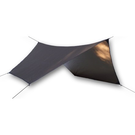 Camp and Hike The Hennessy Hammock Asym Hex rainfly can be substituted for the regular rainfly that comes with your Hennessy Hammock. It's twice the size so adds twice the protection and privacy. - $79.95