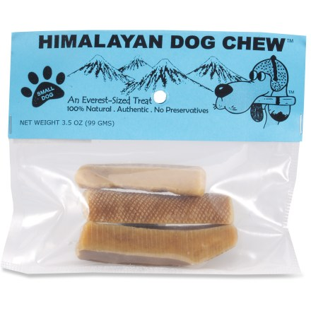 Camp and Hike Himalayan Dog Chew Small Dog Treats use an ancient recipe from high in the Himalayas. They are made of yak and cow milk using traditional methods with no chemicals or preservatives. - $10.00
