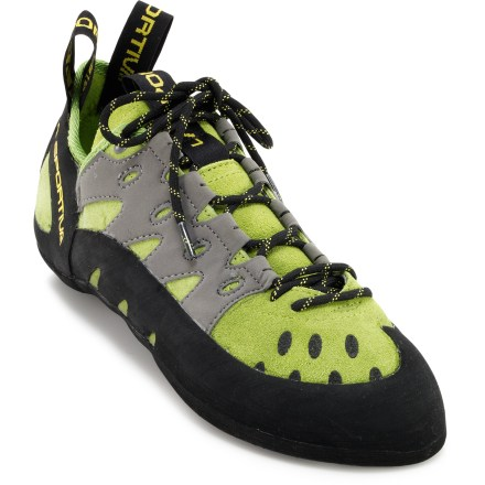 Climbing A jack-of-all-trades, the La Sportiva Tarantulace rock climbing shoes are comfortable enough for all-day climbs or a trip to the rock gym. - $80.00