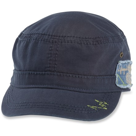 The Life is good(R) Canvas Cadet cap adds instant style to any outfit. Cotton canvas fabric is naturally soft, breathable and comfortable. 1 size fits most with an adjustable back closure. - $22.00