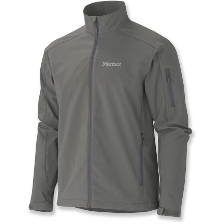 The Marmot Approach jacket covers a truly huge range of weather conditions and uses. This breathable soft shell excels during highly aerobic activities in dry, mild conditions. - $59.83