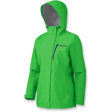 The Marmot Rincon jacket offers a durable barrier against rain and wind for long days spent on the trails, quick trips to the store or that seemingly interminable wait for the bus while it's raining. - $69.83