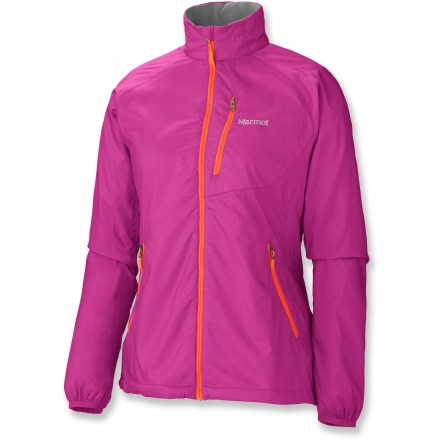 Camp and Hike Perfect for that first cold mile, the Marmot Stride jacket provides lightweight protection from rain and wind while staying light and breathable, meaning there's no need to worry about overheating. - $69.93