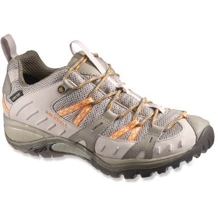 Camp and Hike The Merrell Siren Sport 2 waterproof hiking shoes supply plenty of support, breathability and comfort for your adventures. - $54.83