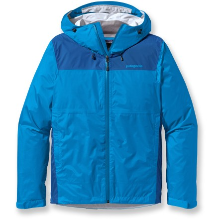The Patagonia Torrentshell Plus Jacket is a durable full-featured waterproof, breathable rain jacket built for rugged excursions. - $117.93