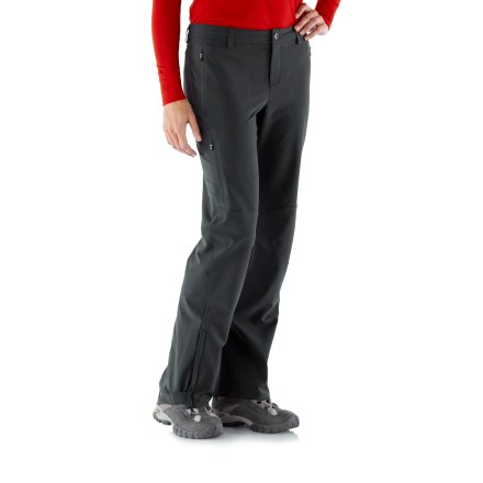 Camp and Hike REI Endeavor Pants have just about every detail you'd want in all-weather hiking clothing, including quick-drying fabric that stretches so you can move comfortably. - $26.83