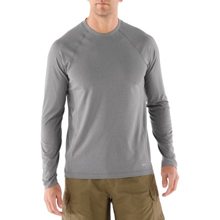 Fitness Versatile and comfortable, the REI Tech long-sleeve T-shirt is sure to be a favorite workout staple, whether you're heading out for a trail run, hitting the gym or getting back to seasonal training. - $13.83