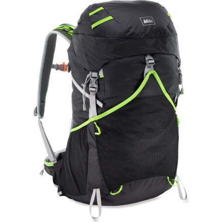 Camp and Hike The streamlined REI Flash 45 pack balances minimal weight with maximum comfort and convenience. It's the perfect companion for a long weekend of fast and light backpacking. - $63.83