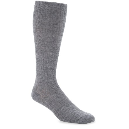 SmartWool Cable Knee-High socks are a classic, non-cushioned, knee-length style for daily or dressy wear. Made from soft merino wool blended with nylon, these socks wick moisture away from your feet, keeping them dry and cool in summer and warm in winter. Elastic helps socks stretch and delivers all-day comfort. Supportive arch and ankle braces enhance stability and keep socks in place. SmartWool socks are guaranteed not to itch and can be repeatedly washed and dried without shrinking. *Discount will be applied when you check out. Offer not valid for sale-price items ending in $._3 or $._9. - $10.93