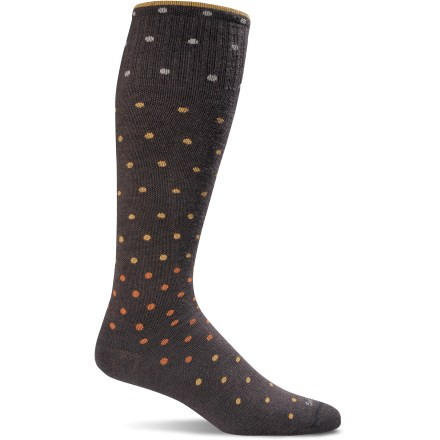 Fitness Whether you're about to spend hours on a plane or trying to speed muscle recovery, the Sockwell On the Spot Compression socks readily help increase blood flow, decrease swelling and deliver support. - $16.93