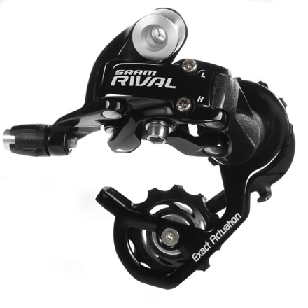MTB Sacrifice nothing-not durability, dependability or performance. SRAM Rival rear derailleur offers nimble shifting with unyielding precision. - $58.00
