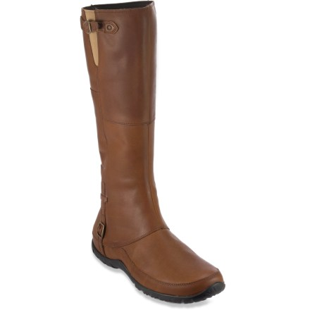 The chic Camryn boots from The North Face offer svelte, equestrian-inspired style you can wear downtown. - $44.83