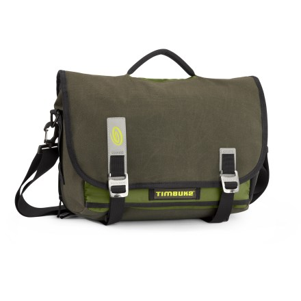 Entertainment With a well-thought-out, eye-catching urban design, the small Timbuk2 Command Messenger bag is perfect for everyday use, and stellar when it comes to airline travel. - $31.93