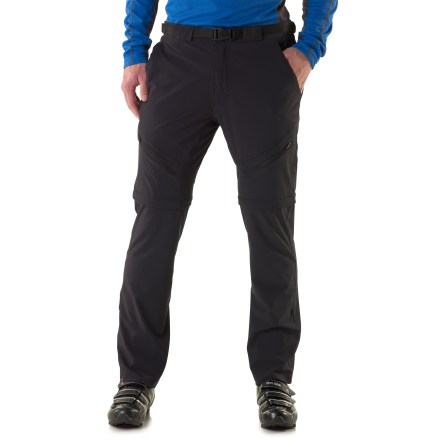 Fitness An all-weather friend for work and play, the Zoic Black Market Convertible pants transform from a weekday commuter to a weekend assaulter of the trail. - $59.93